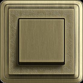 Gira ClassiX Art bronze, touch switch bronze