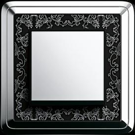 Gira ClassiX Art chrome+ black, touch switch, chrome